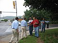 Gov. Warner and Gov. Kaine at the Buena Vista Labor Day Parade (235247147).jpg