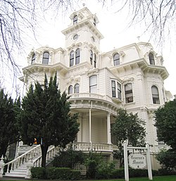 Governor's Mansion State Historic Park - exterior 1 (cropped).JPG
