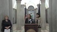 File:Governor Nikki Haley announces elimination of projected DSS deficit.webm