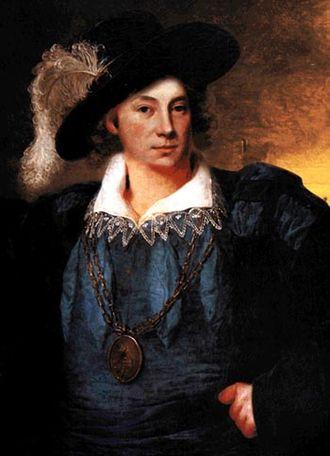 Laurens de Graaf - A portrait of Laurens de Graaf of disputed authenticity
