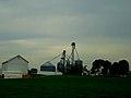 Grain Elevator near Waunakee - panoramio.jpg