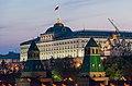 Grand Kremlin Palace at evening - Moscow, Russia - panoramio.jpg