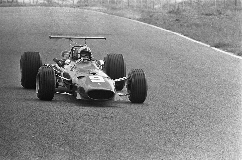 Grand Prix 68 Zandvoort .Chris Amon (Ferrari), Bestanddeelnr 921-4611