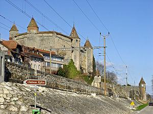 Grandson Castle - Grandson Castle