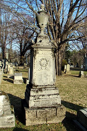 Ethelbert Ludlow Dudley - Grave of Dudley