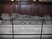 Rollo's grave at the cathedral of Rouen
