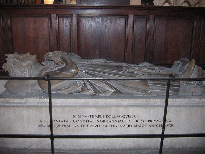File:Grave of Rollo of Normandy.jpg
