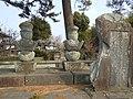 Grave of Ryūzōji Takanobu in Kōden-ji.JPG