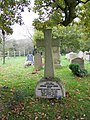 Grave of Sir Arthur Conan Doyle, All Saints Church, Minstead - geograph.org.uk - 1036150.jpg