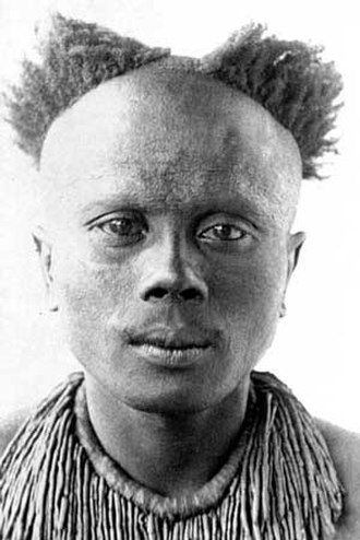 Great Andamanese - Riala, an interpreter for the British from the Aka-Kede Tribe of Great Andamanese from Middle Andaman in 1890