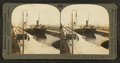 Greatest canal traffic in the world, Sault Ste. Marie, Mich, from Robert N. Dennis collection of stereoscopic views.png