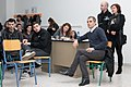 Greek Wikipedia presentation at IEK Chaidariou, Athens, January 2014 (02).jpg