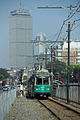 Green Line streetcar leaving BU East outbound.jpg
