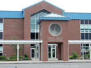 Lower Heidelberg Township, Berks County, Pennsylvania - Image: Green Valley Elementary School, Lower Heidelberg Twp, Bercks Co PA 02