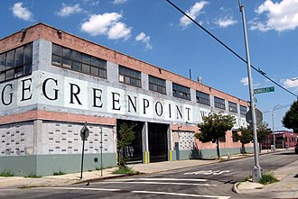 Greenpoint, Brooklyn - The Greenpoint Wood Exchange, where lumber is processed