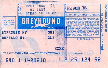 Greyhound bus ticket from August 1975 Greyhound bus ticket 21251124.jpg
