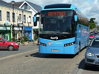 Aircoach - Jonckheere SHV bodied Volvo B12B in Shankill in 2009