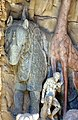 Grotta degli animali, sx, scuola del tribolo, rinoceronte.JPG