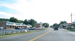 U.S. Route 340 thru Grottoes