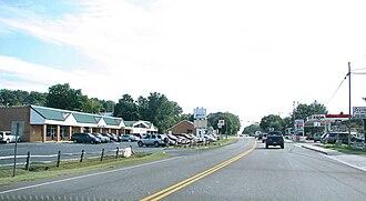 U.S. Route 340 in Virginia - Route 340 thru Grottoes, Virginia.