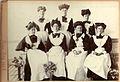 Group of Edwardian maids? Herne Bay, 1907 (7054650803).jpg