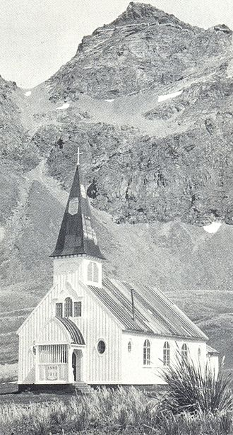 History of South Georgia and the South Sandwich Islands - Norwegian Church in Grytviken  (built 1913)