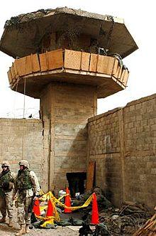 Guard Tower at Abu Ghraib Prison.jpg