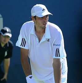 Guillaume Ruffin op de US Open 2010