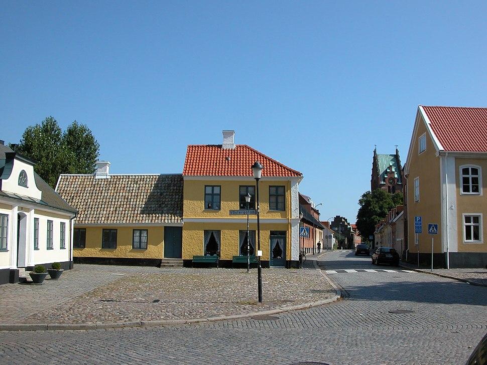 Gula huset i Trelleborg