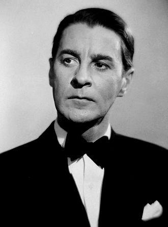 Gunnar Björnstrand - Image: Gunnar Björnstrand, Swedish actor (B&W)