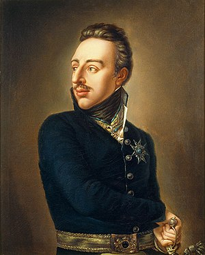 Gustav IV Adolf of Sweden - Portrait by Per Krafft the Younger