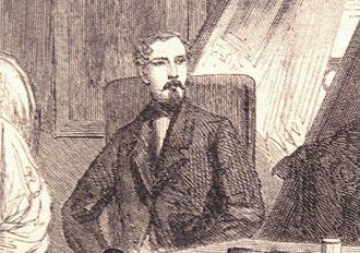 Gustave Duchesne de Bellecourt - Duchesne de Bellecourt in July 1863, at the age of 46.