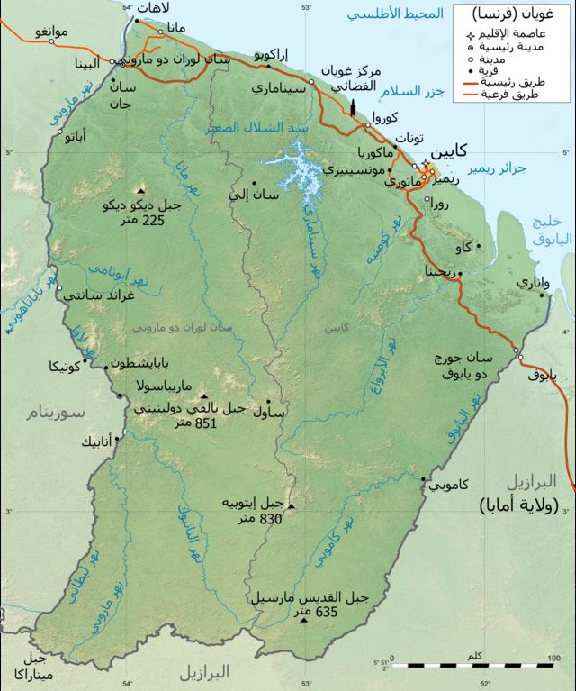 File Guyane Map Ar Png Wikimedia Commons