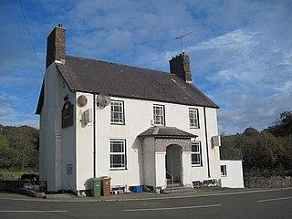 Sarn Meyllteyrn Human settlement in Wales