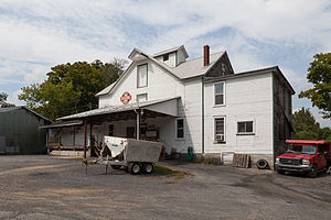 H.O. Andrews Feed Mill - The mill in September 2014