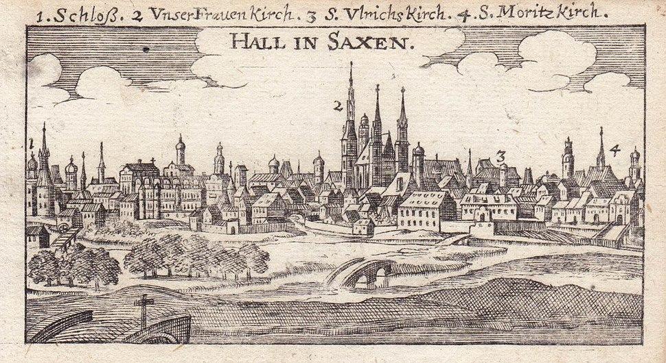 HALL IN SAXEN - Der getreue Rei%C3%9F-Gefert... - 1686