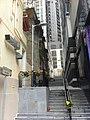 HK 上環 Sheung Wan 士丹頓街 Staunton Street 中和里 Chung Wo Lane stair Jan-2012.jpg
