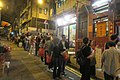 HK 上環 Sheung Wan 差館上街 Upper Station Street night 太平山街 Tai Ping Shan Street 觀音堂 Kwun Yum Tong Temple 觀音借庫 Kwun Yum Treasury Opening Festival March 2019 IX2 08.jpg