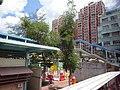 HK 元朗西巴士總站 Yuen Long West BT Bus Terminus 安達坊 On Tat Square view Ho King Building July 2016 DSC.jpg
