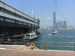 HK Sheung Wan Central Government Pier 32 Man Fai Street view ICC West Kln Oct-2012.JPG