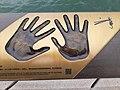 HK TST 尖沙咀海濱 Tsim Sha Tsui Waterfront Promenade 梳士巴利花園 Salisbury Garden 香港星光大道 Avenue of Stars handprints March 2020 SS2 13.jpg