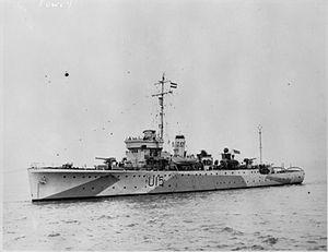 Shoreham-class sloop - HMS Fowey (F15)