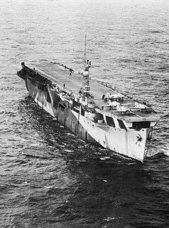 HMS <i>Nairana</i> (D05) Nairana class-escort carrier