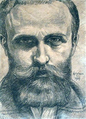 Jan Cornelis Hofman - Self-Portrait 1929