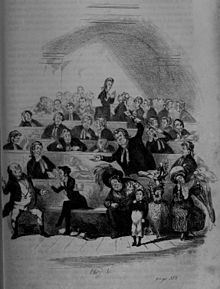 Hablot Knight Browne - The Pickwick Papers, Bardell versus Pickwick, Chapter XXXIII.jpg