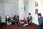 Hafez al-Assad visit to Iran, 1 August 1997 (11).jpg