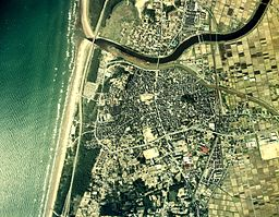 Hakui city center area Aerial photograph.1975.jpg