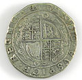 Halfcrown of Charles I - Counterfeit (YORYM-1995.109.14) reverse.jpg