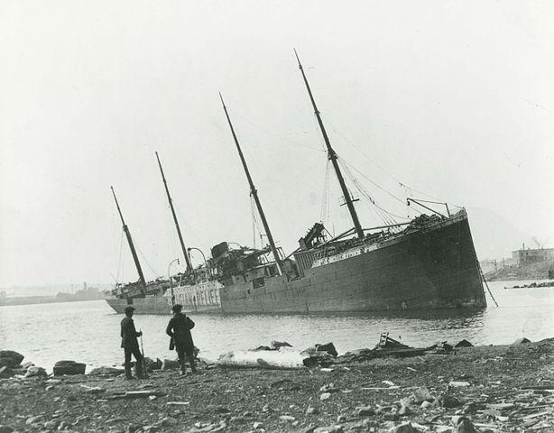 האניה אימו, נוטה ושקועה לאחר הפיצוץ - הפודקאסט עושים היסטוריה