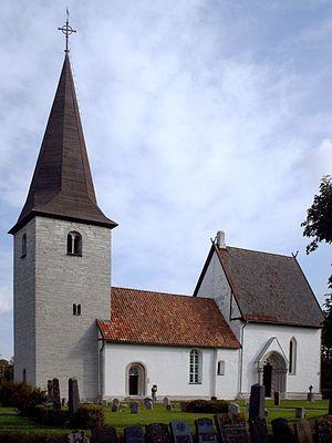 Halla Church, Gotland - Image: Halla kyrka